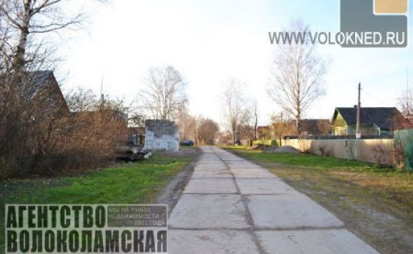 Дом под снос на участке 30 соток в деревне Хрулево