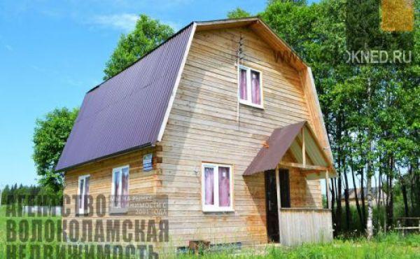 Новый дом на участке 15 соток рядом с Рузским вдхр