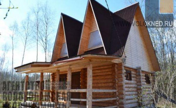 Новый дом-баня на участке 10 соток в СНТ Калеево