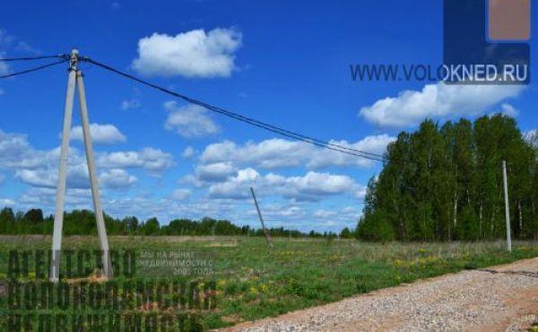 Участок 15 соток в деревне Титово, Рузское вдхр 300м