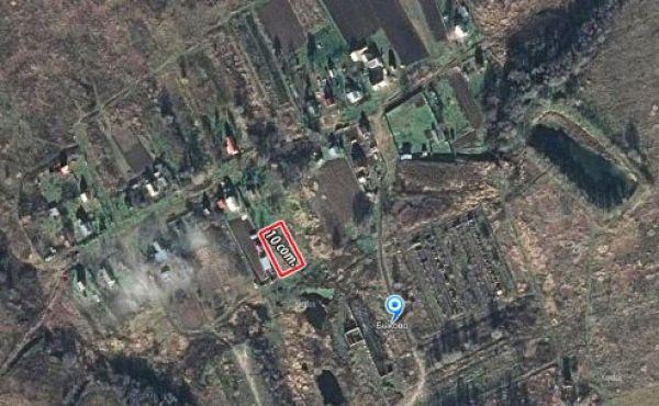 Участок 10 соток, ЛПХ, в д.Быково, 8 км от Волоколамска