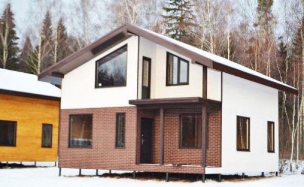 Предлагаем к продаже жилые дома по канадской технологии в мини поселке рядом с деревней Чернево