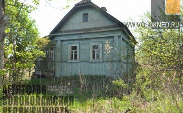 Жилой дом на участке 30 сот в деревне (600м до реки Руза)