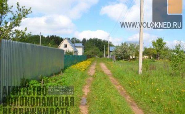 Участок 10 соток в СНТ Рубин Волоколамского района