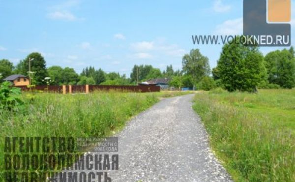 Участок 10сот под ИЖС в деревне Пашково