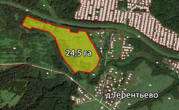 24га сельхозназначения (КФХ) в Волоколамском районе