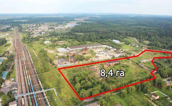 Участок под производство 8,4 га в Волоколамске