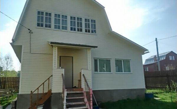 Брусовой дачный дом в СНТ Северо-Запад, рядом с д.Аксеново (112 км от МКАД)
