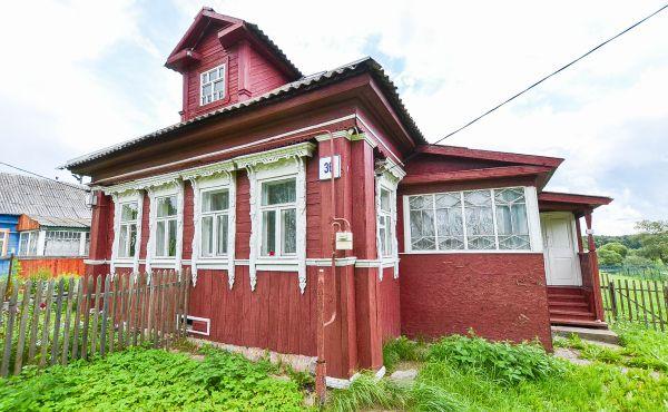 Часть жилого дома в селе Ярополец
