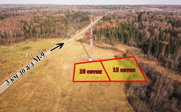 Земельный участок в деревне Иванцево Волоколамского района