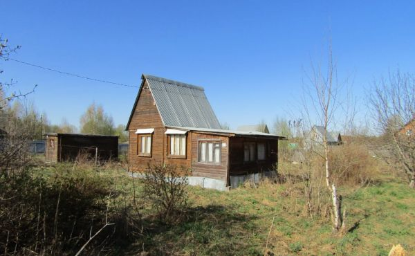 Дачный дом на земельном участке 12 соток рядом с д.Литвиново (90 км от МКАД)