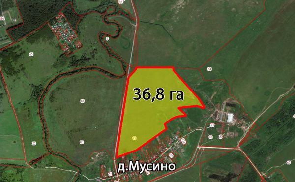 Участок 36,8 га в Волоколамском районе