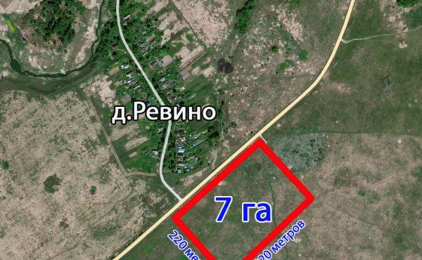 Сельскохозяйственный участок 7 га в Волоколамском районе СХ-3