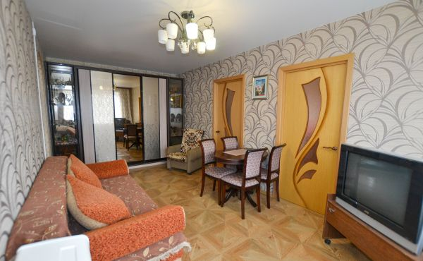 Четырехкомнатная квартира с ремонтом в Волоколамске