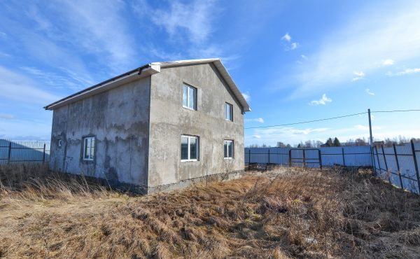 Дом на участке 15 соток в деревне Степаньково