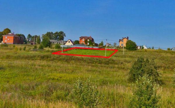 Участок 15 соток ИЖС в д.Жданово (5 км от г.Волоколамска)