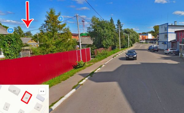 Участок 6 соток в центральной части города Волоколамск
